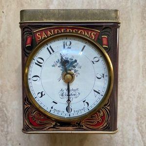 Vintage Sandersons English Breakfast Tea Tin Can
